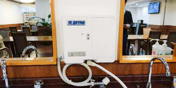 大阪府門真市の微酸性次亜塩素酸水のエルビーノの介護施設への導入事例