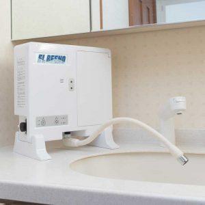 微酸性次亜塩素酸水電解装置エルビーノの安心の代理店サポート